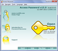 LastBit Access Password Recovery screenshot