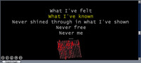 LyricFX for Winamp screenshot